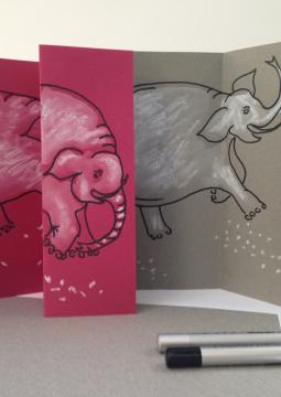 Le portrait de l'éléphant blanc