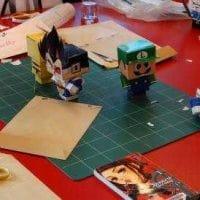Atelier création de Papertoys