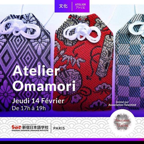 Atelier Omamori en tatami-béri chez SNG