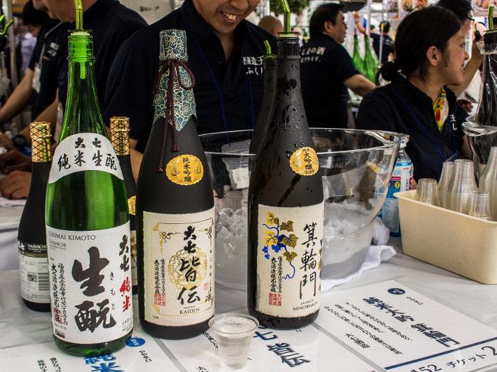 Initiation au saké japonais