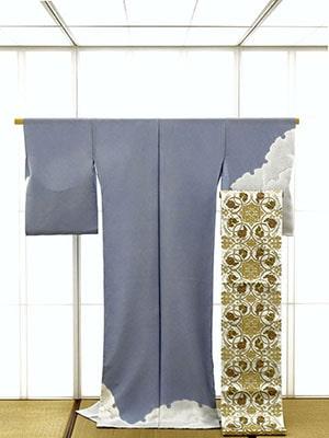 Scène d'un petit magasin de kimono : TAKASU