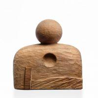 Minimal - Sculptures en bois de Chiharu Nishijima
