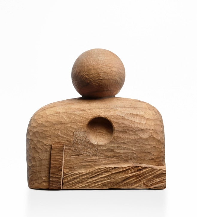 Minimal – Sculptures en bois de Chiharu Nishijima
