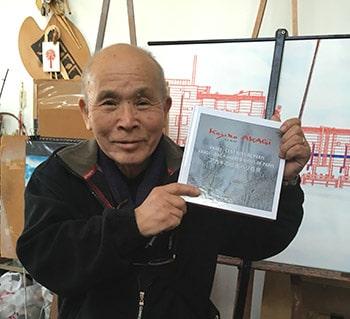 Séance dédicace de Kojiro Akagi
