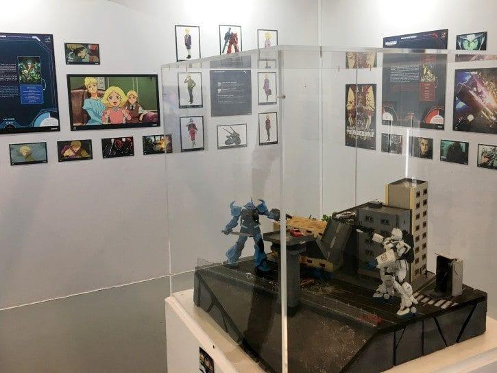 Exposition des 40 ans de la saga Mobile Suit Gundam