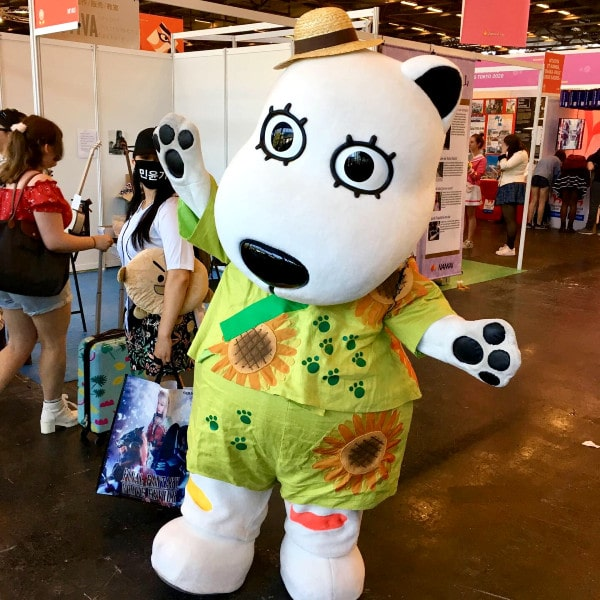 Guddo (Good), la mascotte de Yomiuriland
