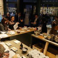 Dégustation de Sakés au Workshop Issé