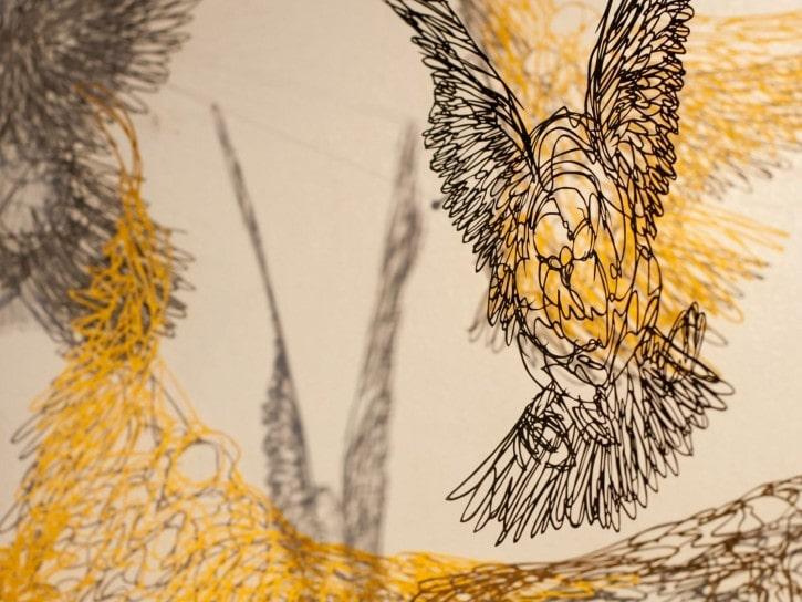 L'art technique japonais du papier découpé, Yusuke Shimomura