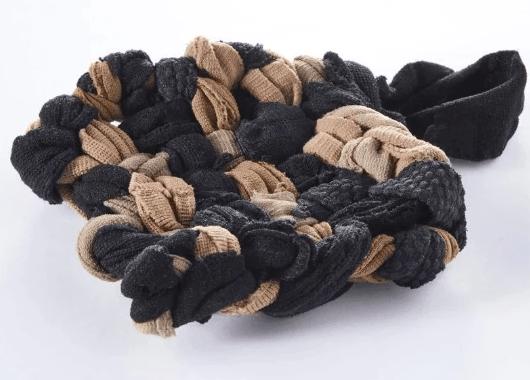 Atelier upcycling : éponge tawashi et élastiques à cheveux