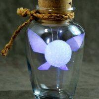 Une fée dans la bouteille