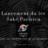 Lancement du 1er saké parisien