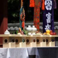 Owari butsugu, fabrication de sanbou