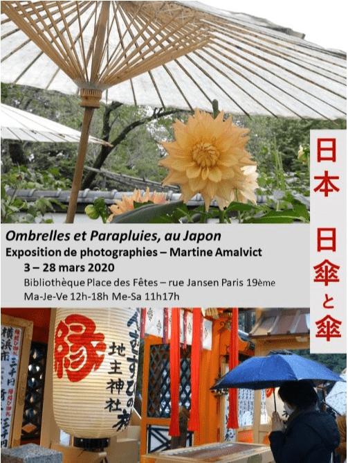 Ombrelles et parapluies, au Japon