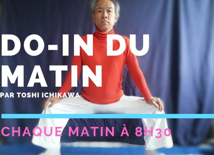 Cours de do-in du matin de Toshi Ichikawa