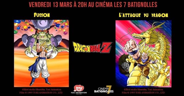 Dragon Ball Z : Fusion et L'Attaque du Dragon aux 7 Batignolles