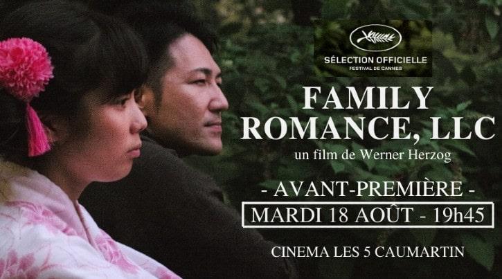 Avant-première de Family Romance, LLC