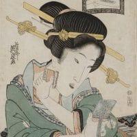 Secrets de beauté : maquillage et coiffures de l'époque Edo dans les estampes japonaises