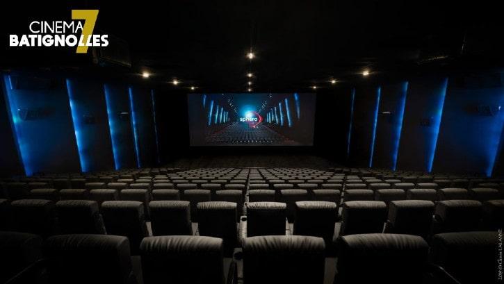 Salle SPHERA du cinéma 7 Batignolles