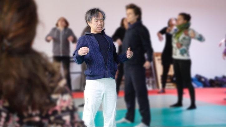 Cours de do-in avec Toshi Ichikawa