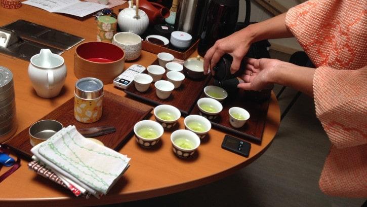 Atelier de dégustation de thés japonais