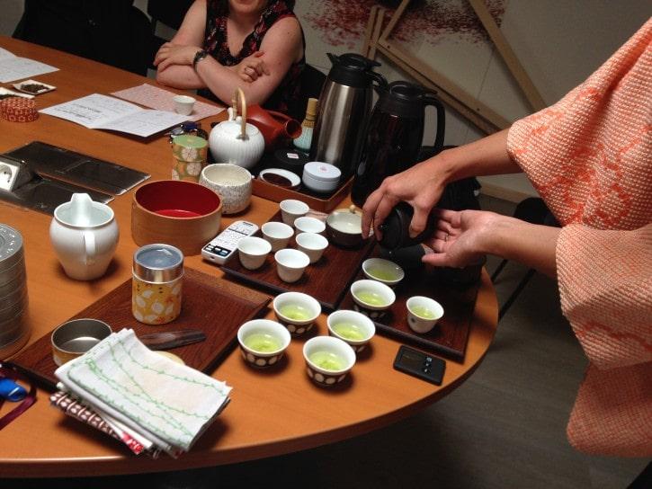 Dégustation de thé japonais à Espace Japon