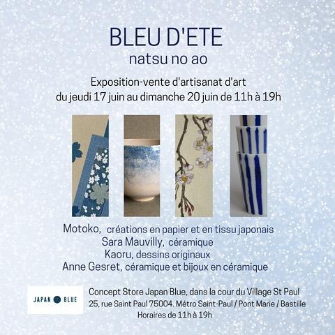 Expo-vente Bleu d'été