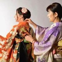 Cours d'habillage de kimono