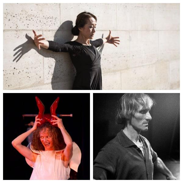 Solos de danse de Miyoko Shida, Paola Piccolo et Philippe Ducou