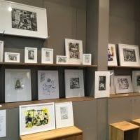 Expo-vente d'estampes de Kotimi