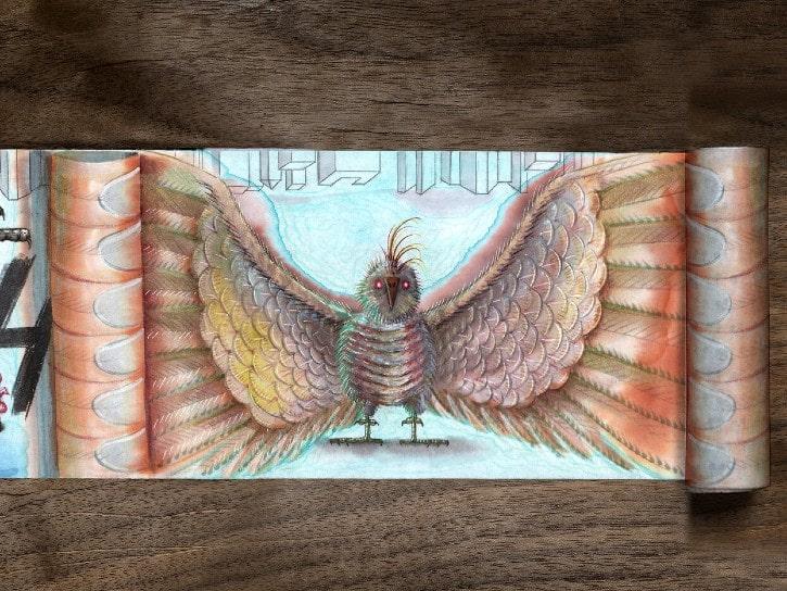 L'Oiseau Faux-Prophète par Nieto et Daichi Mori